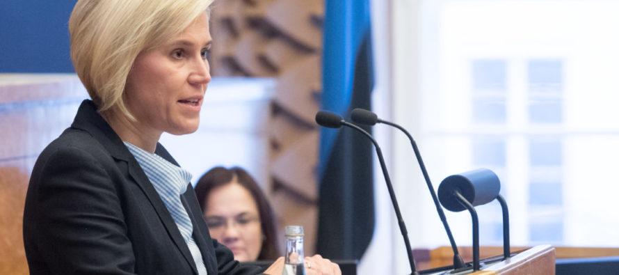 Riigikogu kuulas õiguskantsler Ülle Madise ettekannet möödunud aasta tegevusest