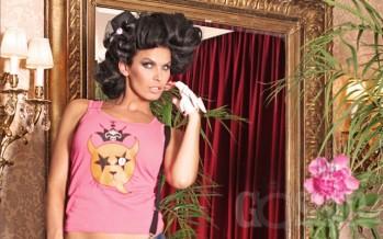 """Ohmygossip Couture """"The Elegant Circus"""" moeeri modell Sini Tarkkinen'iga Soomest"""