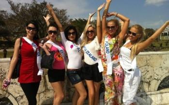 """Kaunis miss Xenia Likhacheva esindab Eestit """"Miss International 2012"""" võistlusel Jaapanis"""