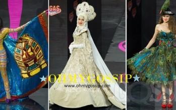 Miss Universe 2013: Missid demonstreerivad rahvuslikke kostüüme (Vol3/3)