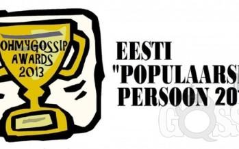 "Ohmygossip Awards: ""Populaarseim persoon 2013"""