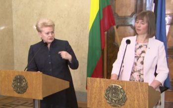 Leedu riigipea Dalia Grybauskaite: e-valimised ei garanteeri anonüümsust ja turvalisust