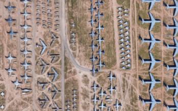 Selline näeb välja lennukite viimne puhkepaik + FOTO!