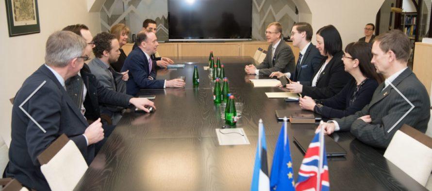 ELAKi liikmed arutasid kohtumisel minister Callananiga Brexitiga seonduvaid arenguid