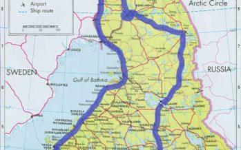 Helena-Reet: Plaanin oktoobriks lastega suurt autoreisi Soomes – 3500km Helsingist Põhja Soome, mööda Rootsi piiri Norra piirini ning läbi sisemaa tagasi