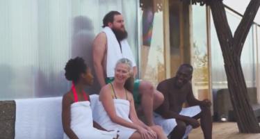 Britid naudivad Soome sauna otse Londoni kesklinnas! FOTOD ja VIDEO!