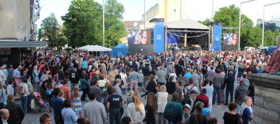 ERR ja NordenBladet olid suurimad Soome100 kontserdi ülekandjad ja sotsiaalmeedias levitajad