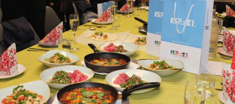 GALERII! Iisraeli saatkond korraldas TETkoolis iisraeli rahvusköögi workshopi koos Tel Aviv´i koka Yuval Ben-Neriah´iga