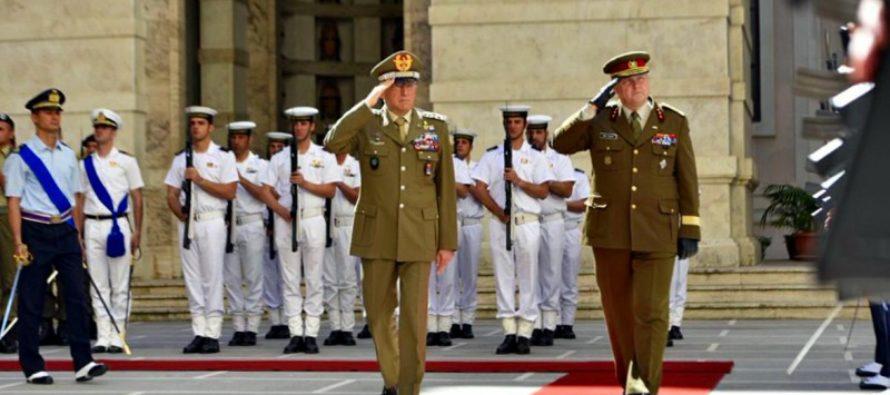 Kindral Riho Terras: Itaalia on Vahemere julgeoleku üks võtmeriikidest