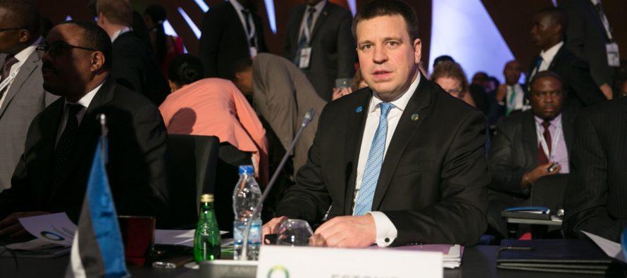 Peaminister Ratas kohtus Abidjanis 42 Aafrika riigi esindajaga