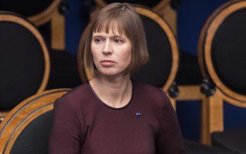 President Kersti Kaljulaid: Info ei maksa suurt midagi ja on kõigile kättesaadav