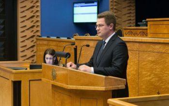 Ametist lahkuva riigihaldusministri Mihhail Korbi asendusliige riigikogus on Marko Šorin