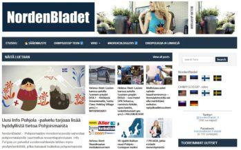 Helena-Reet: Avasime NordenBladet.fi ja NordenBladet.se!! Huvi NordenBladet lehtede vastu on suur ning mõtlen iga päev – kuhu järgmisena? mida järgmisena?