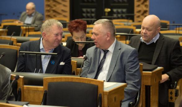 Riigihalduse minister Janek Mäggi andis Riigikogule ülevaate haldusreformi tulemustest