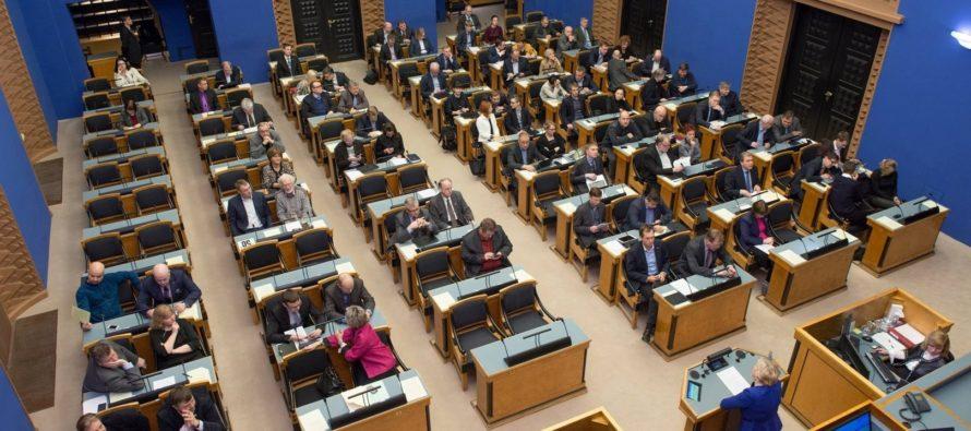 Riigikogu koguneb järgmisel nädalal erakorralisele istungile