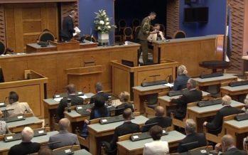 Riigikogus tähistati põhiseaduse referendumi 25. aastapäeva + VIDEO!