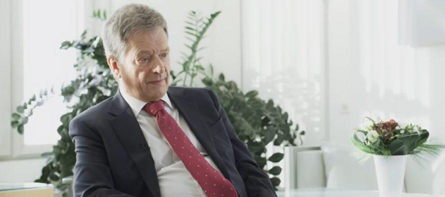 Soome president Sauli Niinistö: Soome uurib, kas Euroopa Liidult saab sõjalist abi