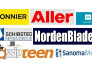 Helena-Reet: TOP10 Skandinaavia meediakontsernid – Bonnier, Sanoma, MTG, Schibsted, Egmont, Aller, YLE, Otava, Alma, NordenBladet