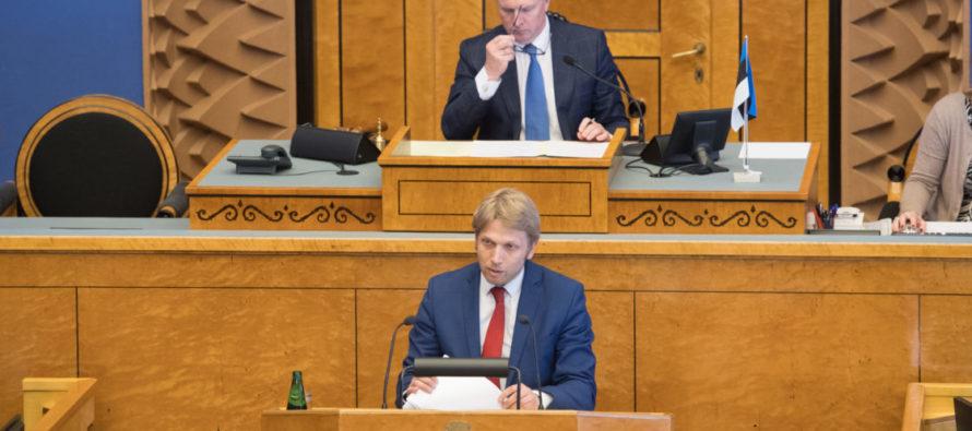 Riigikogu arutas VEB Fondi juhtumi põhjal riiklikku vastutust