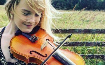 Noor viiuldaja Estella Elisheva: Eesti teatrid on väga heal tasemel