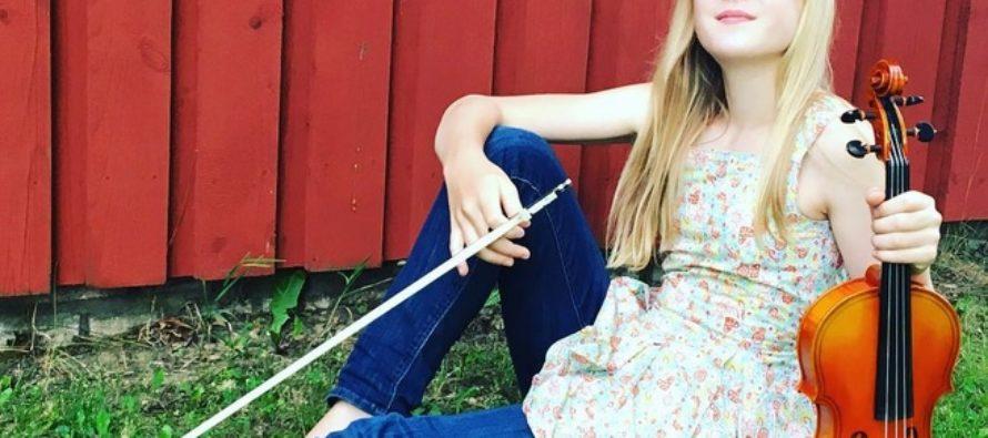 EESTIST PÄRIT 11aastane viiuldaja Estella Elisheva võlub maailma muusikaklassikuid