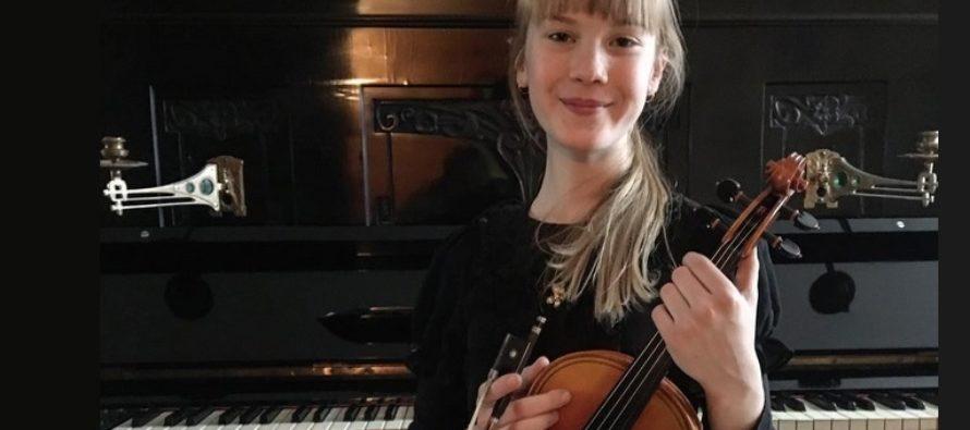 Helena-Reet: Täna toimus üleeestiline viiulikonkurss – Minu tütreke, 11-aastane Estella Elisheva, ametlikult kolmas parim viiuldaja Eestis!