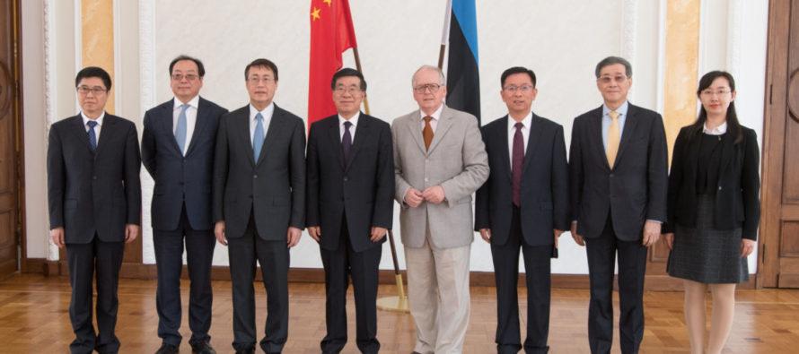Riigikogus arutati Hiina delegatsiooniga kahepoolseid suhteid