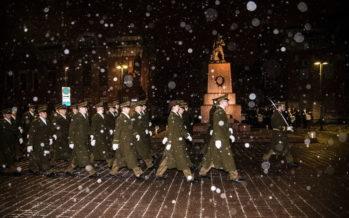 Sõjakool mälestas detsembrimässus langenud kadette + VIDEO!