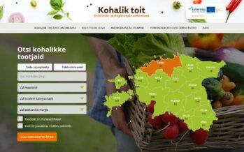 Eesti: Valmis toidu- ja joogitootjaid koondav üle-eestiline andmebaas