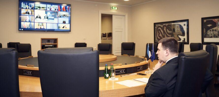 Ratas: Euroopa Liidu riigid teevad koroonaviiruse leviku tõkestamiseks koostööd