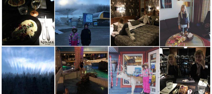 Helena-Reet: Koos lastega autoga ümber Soome (VOL6 – Levi Hotel SPA Sirkkas, Kekäle restoran, imeline loodus, suusamäed jpm. ) + PALJU PILTE!