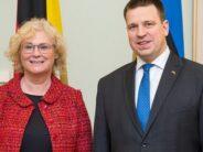 Ratas kohtumisel Saksamaa ministriga: Eestil on hea meel, kui meie digikogemusest on teistele kasu