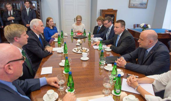 Peaminister Jüri Ratas: USA roll Eesti ja Euroopa julgeoleku tagamisel on asendamatu