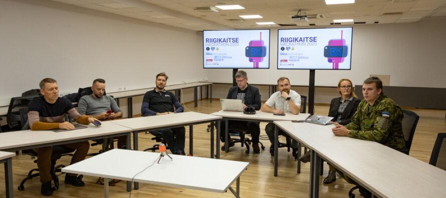 """Eesti: Noored insenerid arendasid programmeerimismaratonil """"Riigikaitse Hackaton 2020"""" kaitsevaldkonna küberlahendusi"""