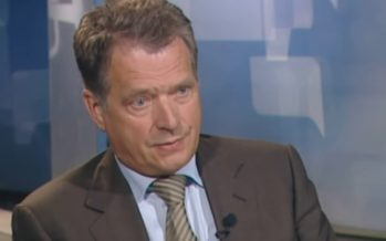 Soome president Sauli Niinistö on homse Lennart Meri konverentsi peakõneleja