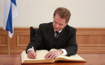 Soome presidendi-gallup: Sauli Niinistö edu teiste ees mäekõrgune