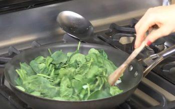 Mis juhtub spinatiga, kui seda keeta?